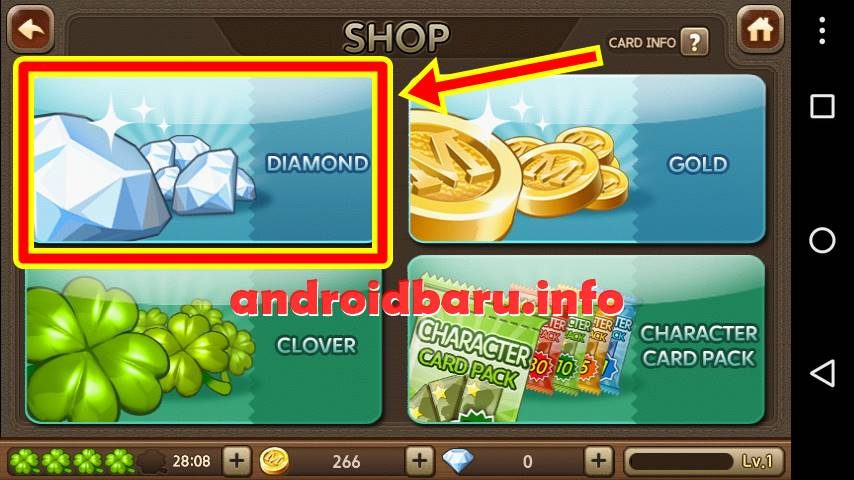 Free Diamond for LINE Let's Get Rich Unlimited Full