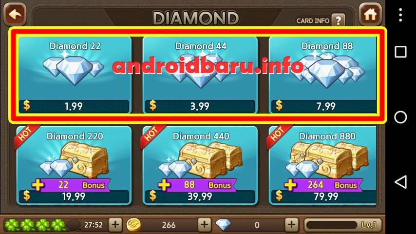 Gratis Diamond 88 Get Rich Hari Ini 2015