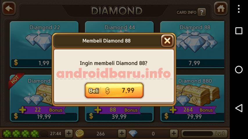 Kupon Hadiah Diamond 88 Gratis Get Rich aktif untuk siapa saja