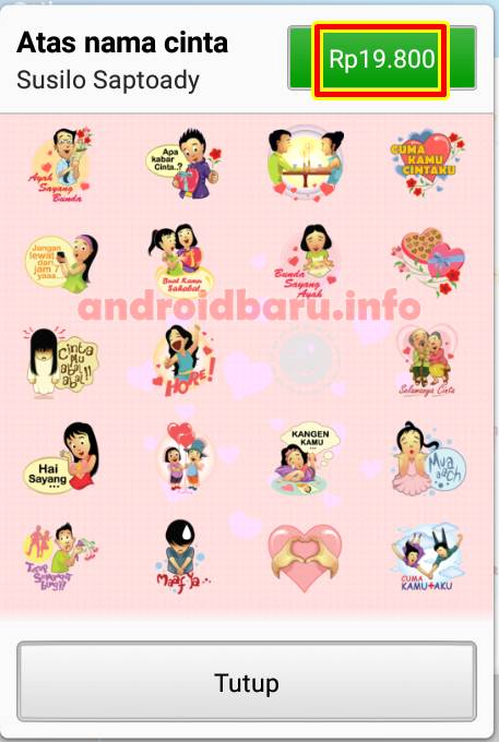 download stiker bbm 1