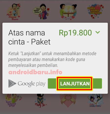 download sticker permium bbm android gratis