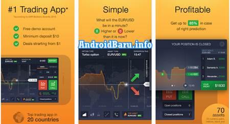 Aplikasi Trading Forex Android Terbaik - IQ Option APK