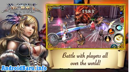 Download Game ONLINE RPG AVABEL Action APK Data - Game MMORPG Android Terbaik Gratis