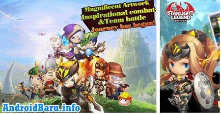 Download Game Starlight Legend APK Data - Game MMORPG Android Terbaik Gratis