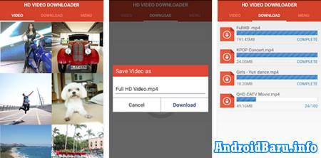 HD Video Downloader APK FOr Android