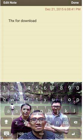 Aplikasi Keyboard Transparan Android yang Ringan - Transparan Keyboard BB APK