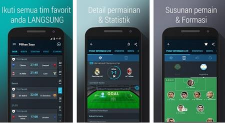 Aplikasi Skor Langsung APK 365Scores untuk HP Android