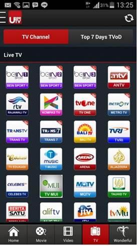 Aplikasi TV Android Terbaik Bein Sport 3 APK UseeTV Gratis
