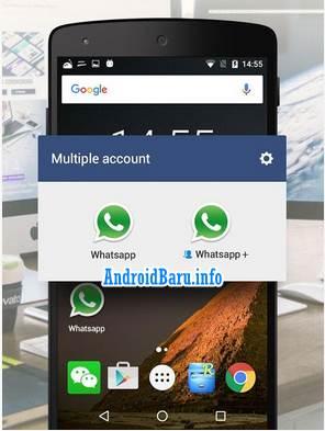 Cara Menggandakan Aplikasi dan Game Android Tanpa Root - Download 2Accounts APK