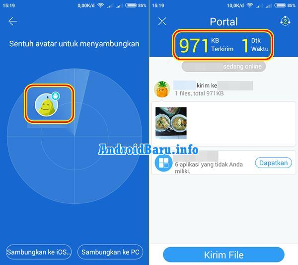 Cara Mengirim File Lewat Wifi Android Sangat Cepat Ringan