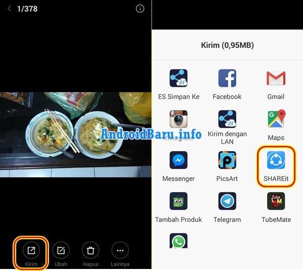 Cara Mengirim File Lewat Wifi Android Gratis Sangat Cepat
