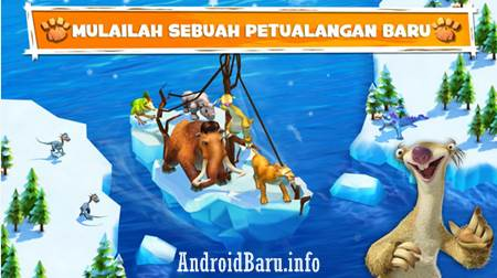 Download Game Android Petualangan Terbaik Offline APK Ice Age Adventures